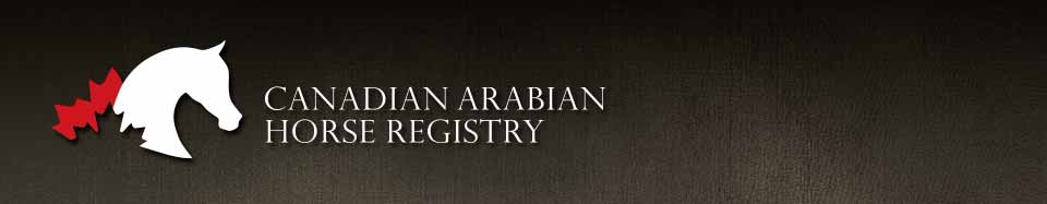 Canadian Arabian Horse Registry